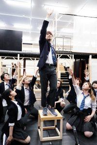 ミュージカル『ジェイミー』オンライン稽古場のぞき見会 撮影:田中亜紀