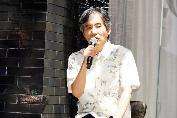 劇団☆新感線『狐晴明九尾狩』製作発表 中島かずき 撮影:田中亜紀