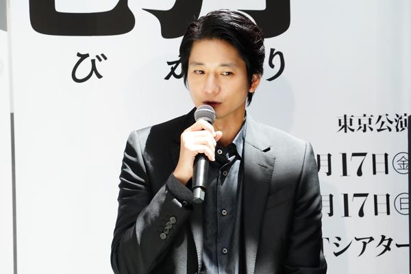 劇団☆新感線『狐晴明九尾狩』製作発表 向井理 撮影:田中亜紀